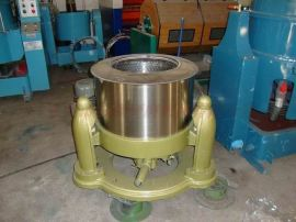 工业脱水机 一款用于各类零件脱水、脱油甩干用高速脱水机-不锈钢外壳铸铁底座坚固耐用的脱水机
