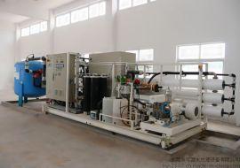10T/h反渗透海水淡化系统