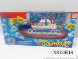 電動消防船 閃光帶音樂 可噴水