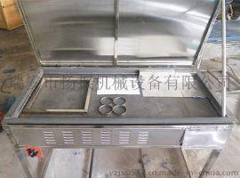 加厚铁板烤绿豆饼板栗饼