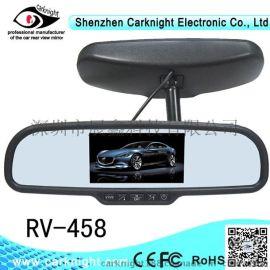 4.3寸专车  中间屏后视镜,倒车后视镜