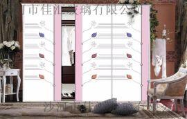2016厂家专业生产销售高档新款高档工艺木板衣柜门吸塑移门