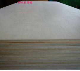 桦木贴面多层板 贴面胶合板