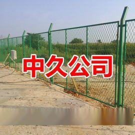 养殖围栏网 果园围栏 鱼塘铁丝围栏 浸塑电焊网