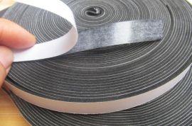 一面带胶防尘隔音EVA海绵密封条生产厂家