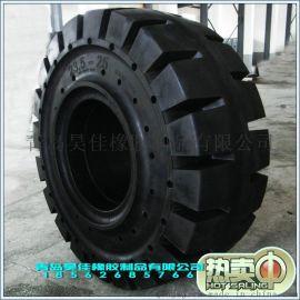 销售工程实心轮胎20.5-25装载机铲车专用