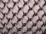 南京枣红色金属装饰网厂家 枣红色金属装饰价格 枣红色金属装饰网