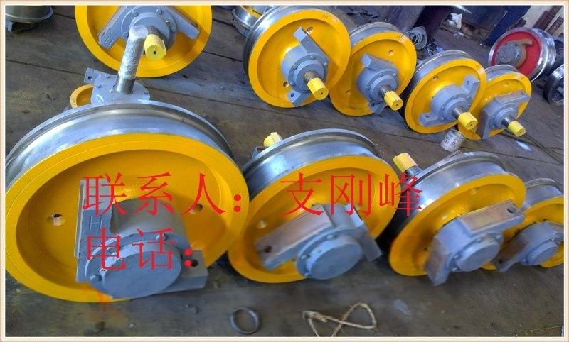 L752 Ø250*90轴承7512单边主动车轮组,行车轮,角箱轮,车轮厂家