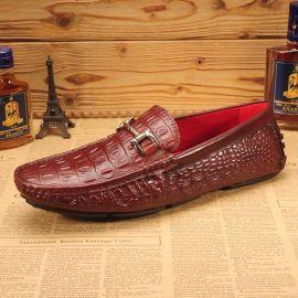 厂家直销真皮休闲男士 豆豆男鞋 商务休闲皮鞋子男皮鞋