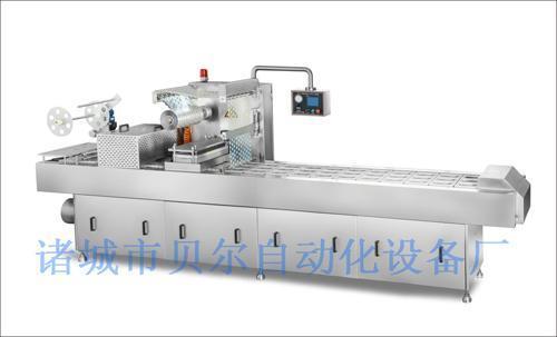 热收缩包装机操作程序简单,BEIER320全自动电脑控制粉剂颗粒真空包装机,连续缠绕包装机,日产量6000斤