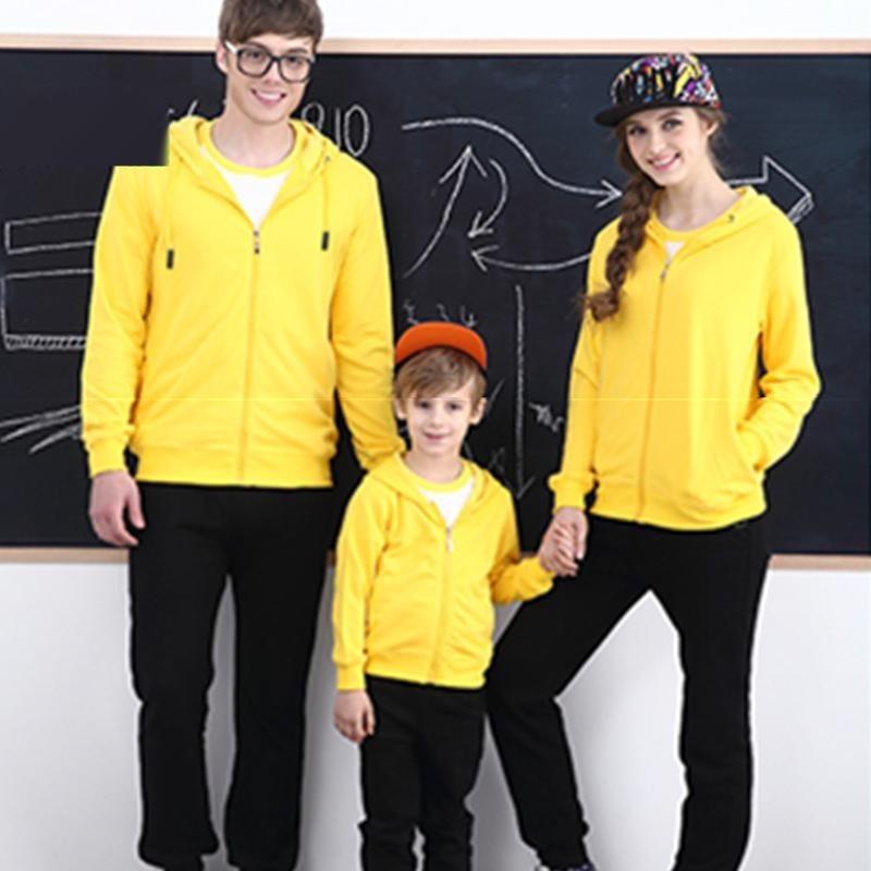 衛衣定製印logo中小學班服連帽開衫團體服