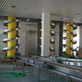 厂家供应螺旋链板输送机 上海连续式升降输送机 螺旋滚筒输送机 效率高 性价比高 性能稳定