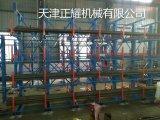 河北貨架廠生產河北管材貨架 懸臂式結構 100%拉出