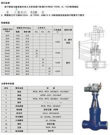 Z962Y-P54电站阀、高温电站闸阀