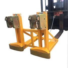 生产厂家 叉车专用双油桶夹具DG1000B