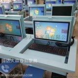 电动升降电脑桌学生考试桌 防作弊电脑桌