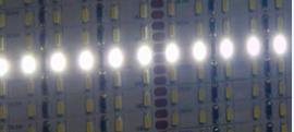 5MM宽1米120灯3014硬灯条和软灯带