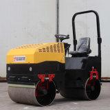 座駕式1噸2噸壓路機 回填土壓實雙鋼輪振動壓路機