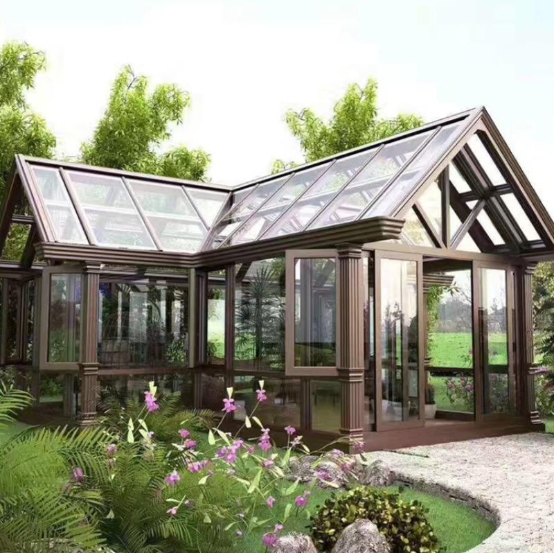 私人訂製花園豪華玻璃陽光房