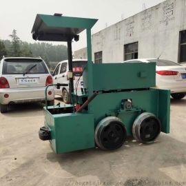 河南井下牵引车 电瓶电机车 蓄电池轨轮式电机车