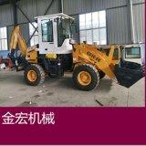 轮式两头忙价格图片挖深2米四驱挖机厂家XIAO