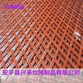 菱形钢板网,钢板网防护网,普通钢板网
