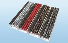 铝合金地垫(橡胶+条纹毯面)