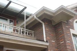 海南金属屋面排水系统 彩铝天沟落水系统 PVC天沟落水系统