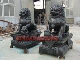 河北铸造厂 开光纯铜狮子摆件仿古宫门狮家