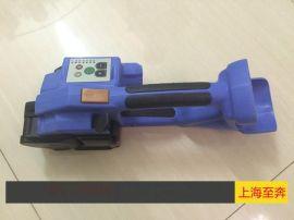 手提电动打包机 上海至奔T200手提电动塑钢带打包机