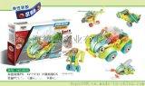 寶貝密碼百思奇5合1螺絲積木男孩百變螺母組閤兒童節可拆卸組裝車兒童玩具DIY玩具手工玩具益智玩具