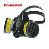 霍尼韋爾 矽膠雙濾盒矽膠半面型面罩大號 防護面罩 高配 75SC濾盒