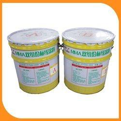 佛山雙組份標線塗料黃色標線工程施工塗料使用方法-路虎交通