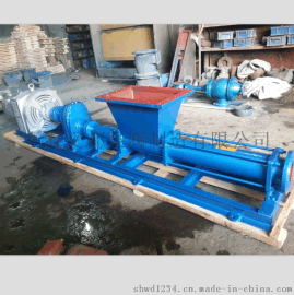直销上海文都牌G40-2型不锈钢单螺杆泵污泥螺杆泵