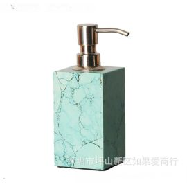 木质绿色洗手液洗发水沐浴露洗衣液瓶子卫浴套件卫生间酒店摆件