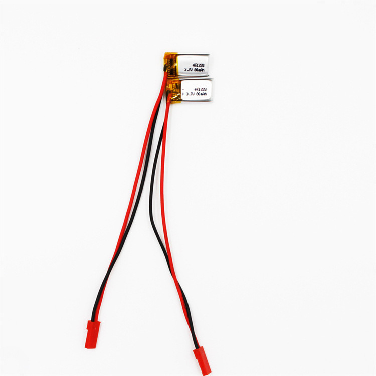 451120-  80mah   聚合物软包电池