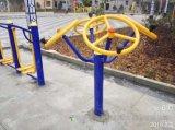 娄底健身设施安装 乡镇社区健身器材路径 太极揉推器