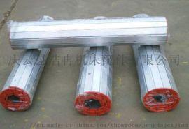 铝型材防护帘 数控机床中拖板铝合金护罩车床导轨挡板