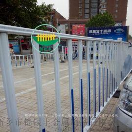 河南新乡洛阳锌钢道路护栏|喷塑道路护栏|道路护栏效果图