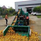 武夷山自动装车可移动大型玉米脱粒机图片