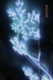 新款挂路灯杆LED造型雪花灯