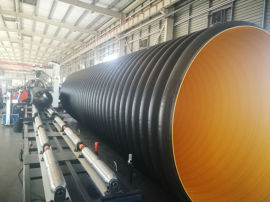 HDPE钢带管 波纹管 大口径 市政排污管道