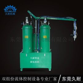 久耐小型聚氨酯发泡机,操作简单一键清洗