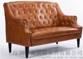 布藝沙發組合可拆洗小戶型客廳簡約現代三人雙人布沙
