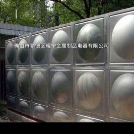 昆山立式水箱 304消防水池厂家 保温不锈钢水箱