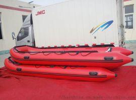 450SA铝合金底板充气龙骨冲锋舟钓鱼船