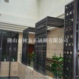 南京 不锈钢加工厂 加工玫瑰金 钛金屏风隔断