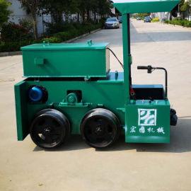 2吨蓄电池电机车 矿用电机车厂家