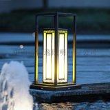 户外防水不锈钢草坪灯 恒逸草坪灯 新中式草坪灯