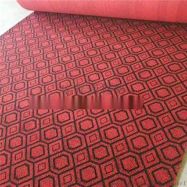 热卖新疆提花地毯 宾馆酒店走廊地毯 间隔绒拉绒地毯
